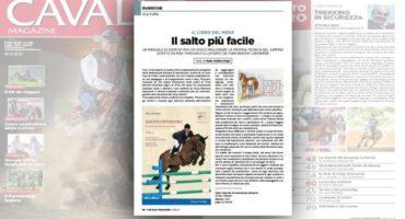 """""""Salto Ostacoli"""" di Max Thirouin è libro del mese su Cavallo Magazine"""
